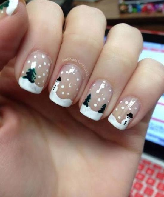 Christmas Nail Art Designs 15