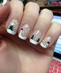 40+ Festive and Fabulous Christmas Nail Art Designs - All ...