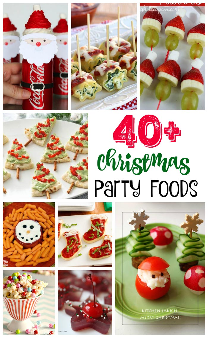 40 easy christmas party
