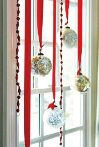 Christmas Decorating Ideas For Curtains | Curtain ...