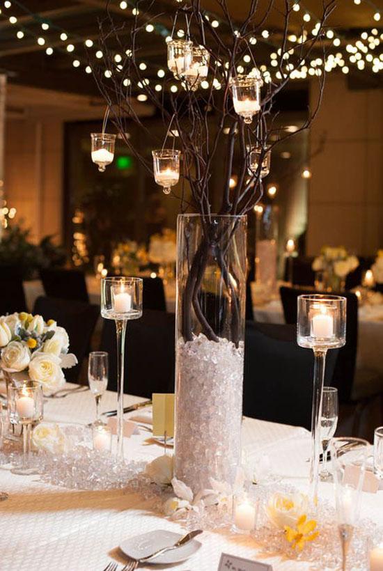 40 Stunning Christmas Wedding Decoration Ideas  All