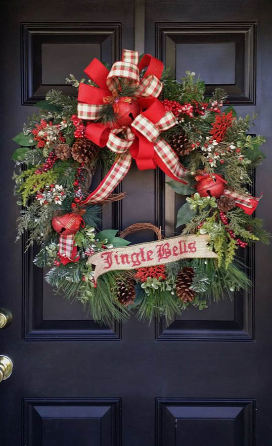Most Beautiful Christmas Wreaths All About Christmas
