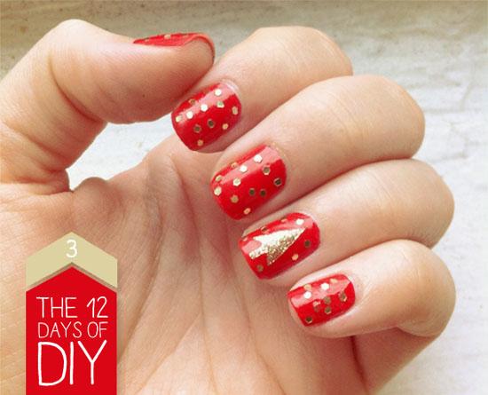 Christmas Nail Art Design 7 Source