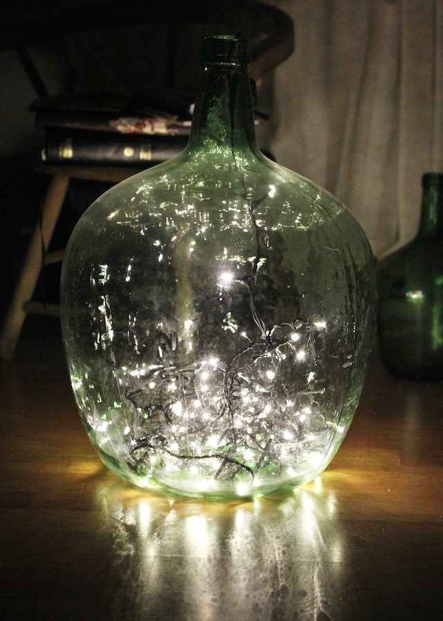 40 Christmas Light Decorations In A Jar All About Christmas