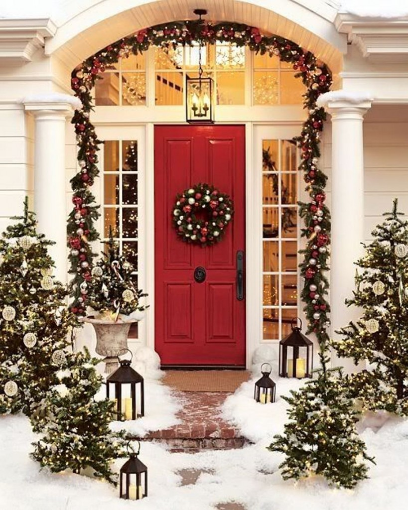 Christmas Decorating Ideas Outside Your House House Interior