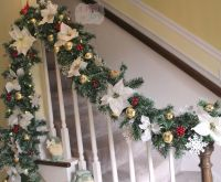 40 Interesting Christmas Garland Decoration Ideas - All ...