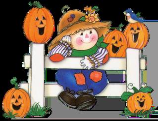 cute halloween clipart kids