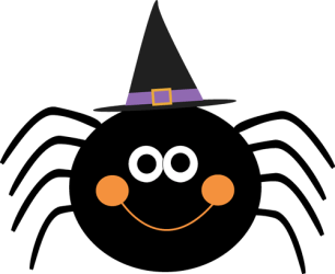 halloween cute clipart christmas carnival clip witch food witches drink spider hat pumpkins