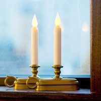 Electric Christmas Window Candles - Christmas Decorations ...