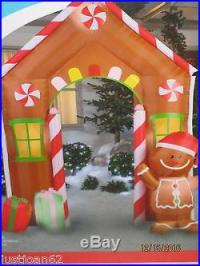 Gemmy 9ft Christmas Airblown Inflatable Gingerbread House ...