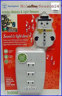 Westinghouse Holiday Musical Sound  LightShow Blinker