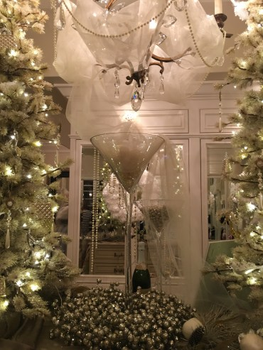 Decorated foyer