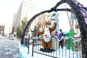St. Louis Zoo float at the 2013 Ameren Missouri Thanksgiving Day Parade.