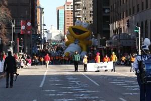 Ameren balloon at the 2013 Ameren Missouri Thanksgiving Day Parade.