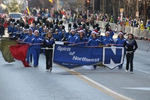 Spirit of Northwest at the 2013 Ameren Missouri Thanksgiving Day Parade.