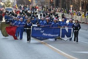 Spirit of Northwest at the 2013 Ameren Missouri Thanksgiving Day Parade.
