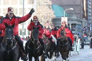 Moolah Shriners at the 2013 Ameren Missouri Thanksgiving Day Parade.