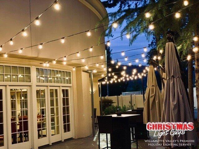 commercial string lights salem oregon