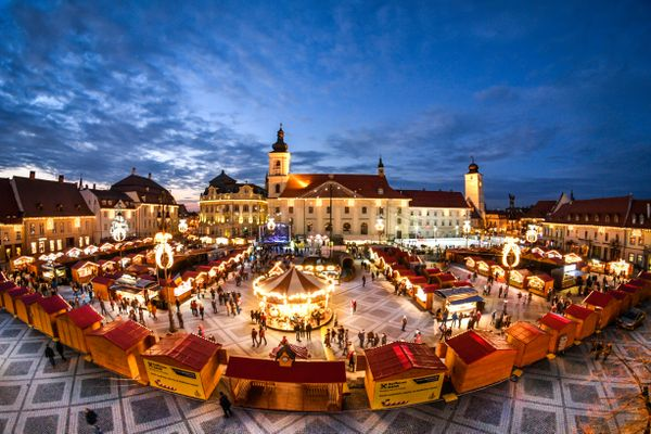New Flights a Gift to Sibiu Christmas Market in Transylvania