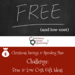 Free and Low Cost Gift Ideas