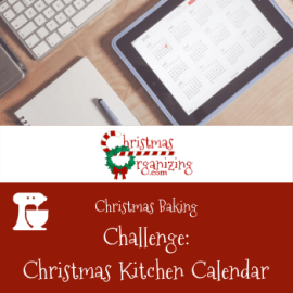 Christmas Kitchen Calendar