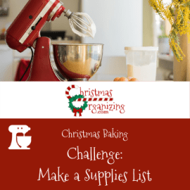 Make a Supplies List