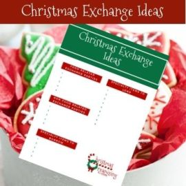 Christmas Exchange Ideas List