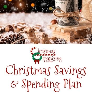 Christmas Savings and Spending Plan