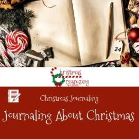 Journaling About Christmas