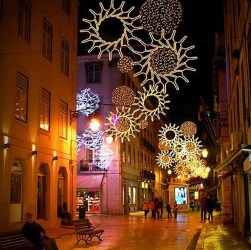 22 beautiful photos of Christmas in Lisbon, Portugal 1