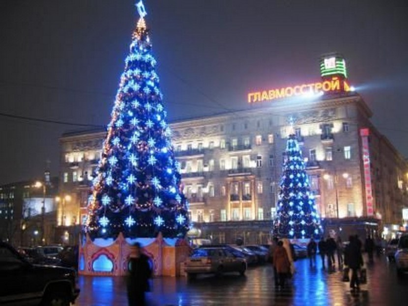Moscow Christmas Trees