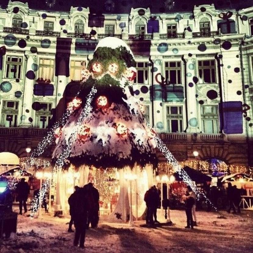Christmas fair in Bucharest