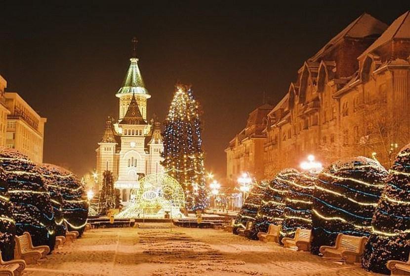Christmas in Timisoara, Romania