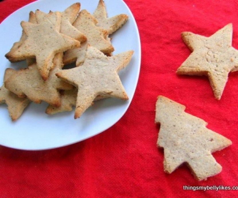 Paleo Spiced Christmas Cookies (gluten-free, real food)