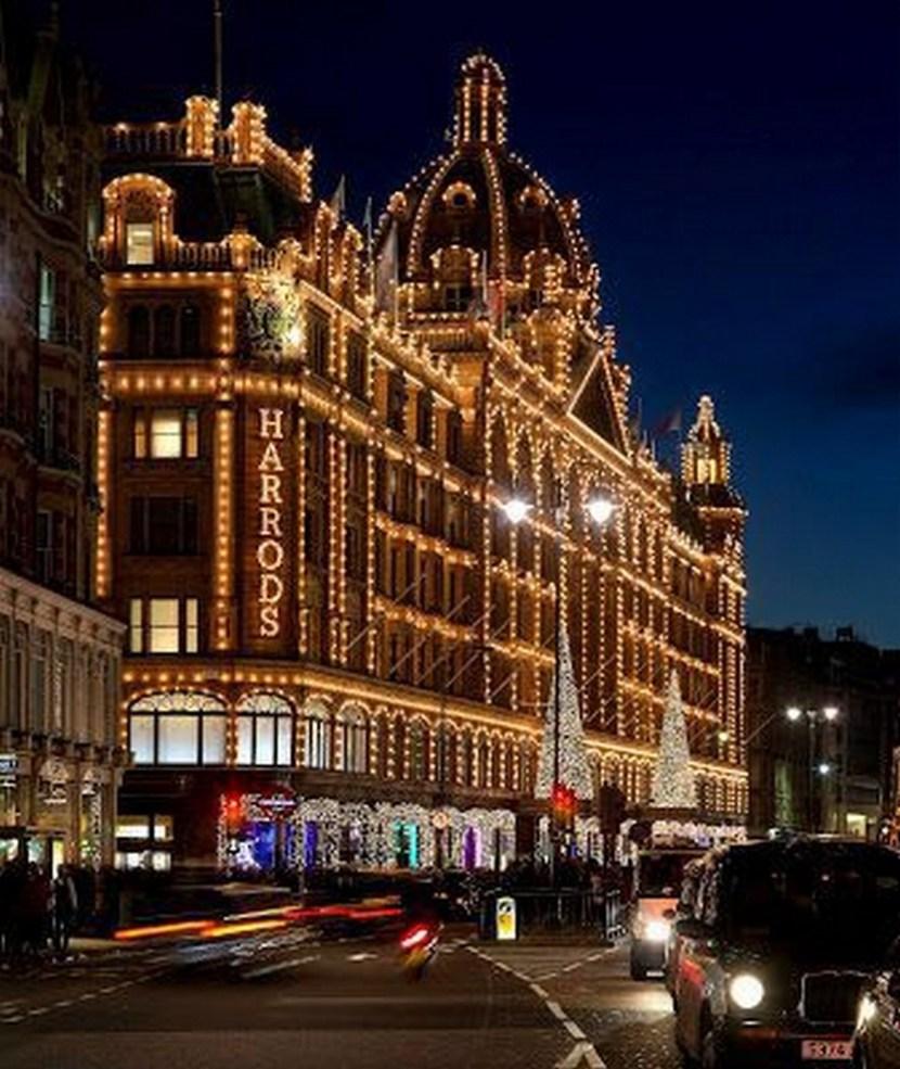 Christmas in Harrods, London