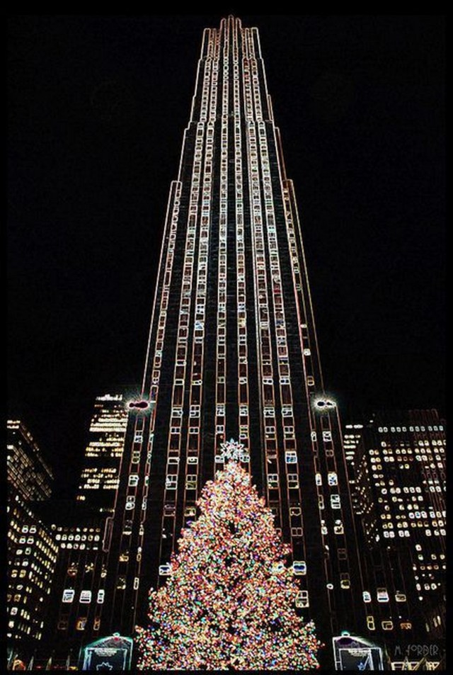 33 beautiful photos of christmas in new york city usa for Christmas day in new york