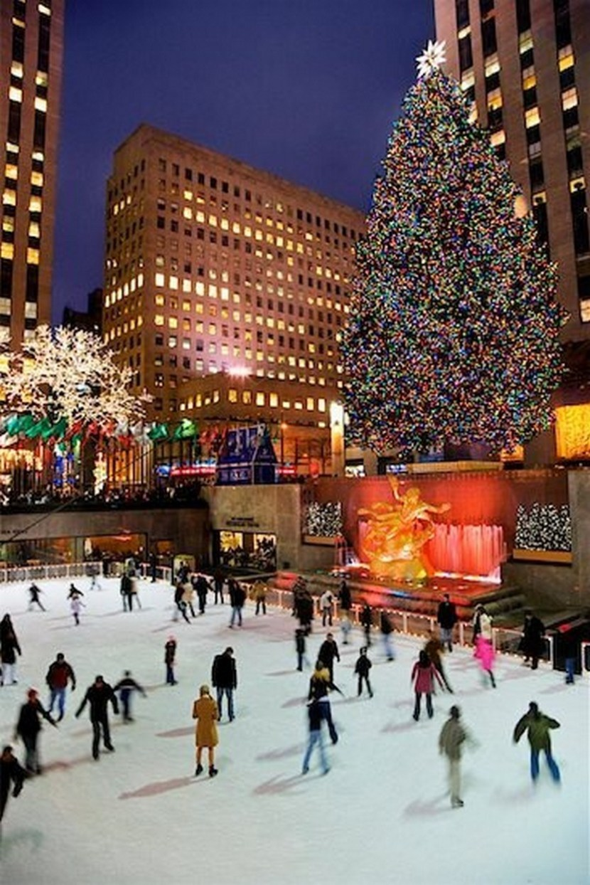 33 beautiful photos of christmas in new york city usa for Things to do in nyc during winter