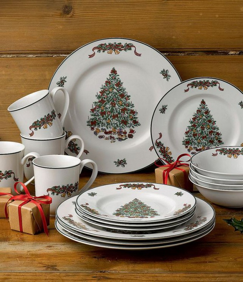 Johnson Brothers Victorian Christmas Dinnerware Set & 57 Beautiful Christmas Dinnerware Sets u2013 Christmas Photos