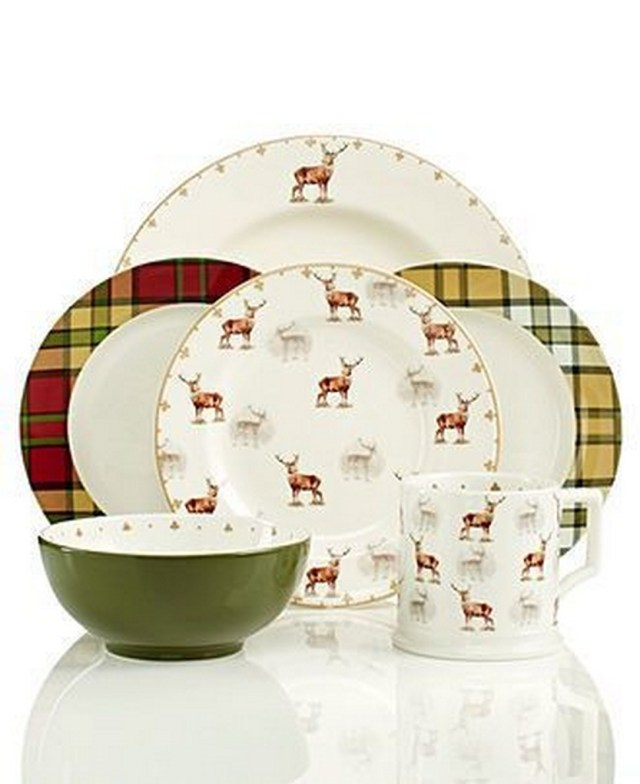 Christmas Dishes Spode