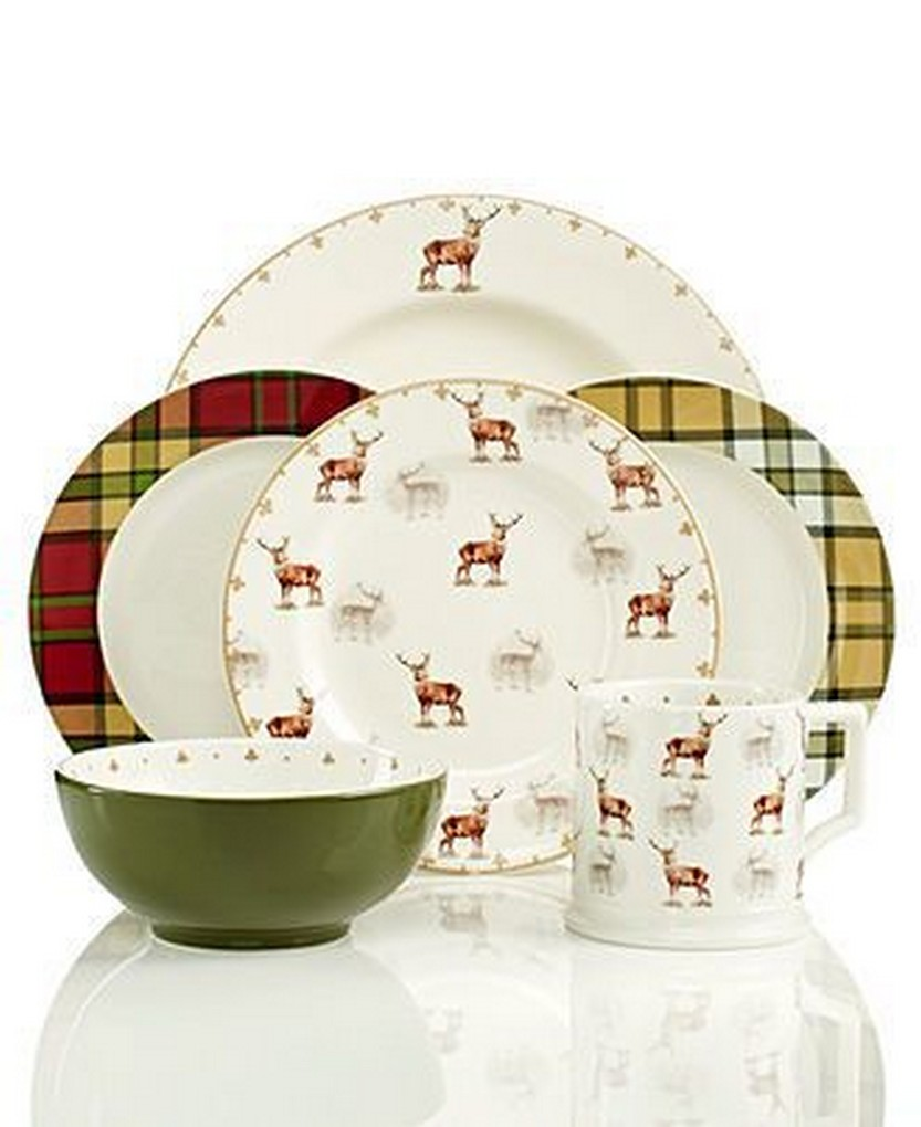 Spode Dinnerware Glen Lodge Collection u2013 Christmas Dinnerware u2013 Holiday Lane u2013 Macyu0027s  sc 1 st  Christmas Photos & 57 Beautiful Christmas Dinnerware Sets u2013 Christmas Photos