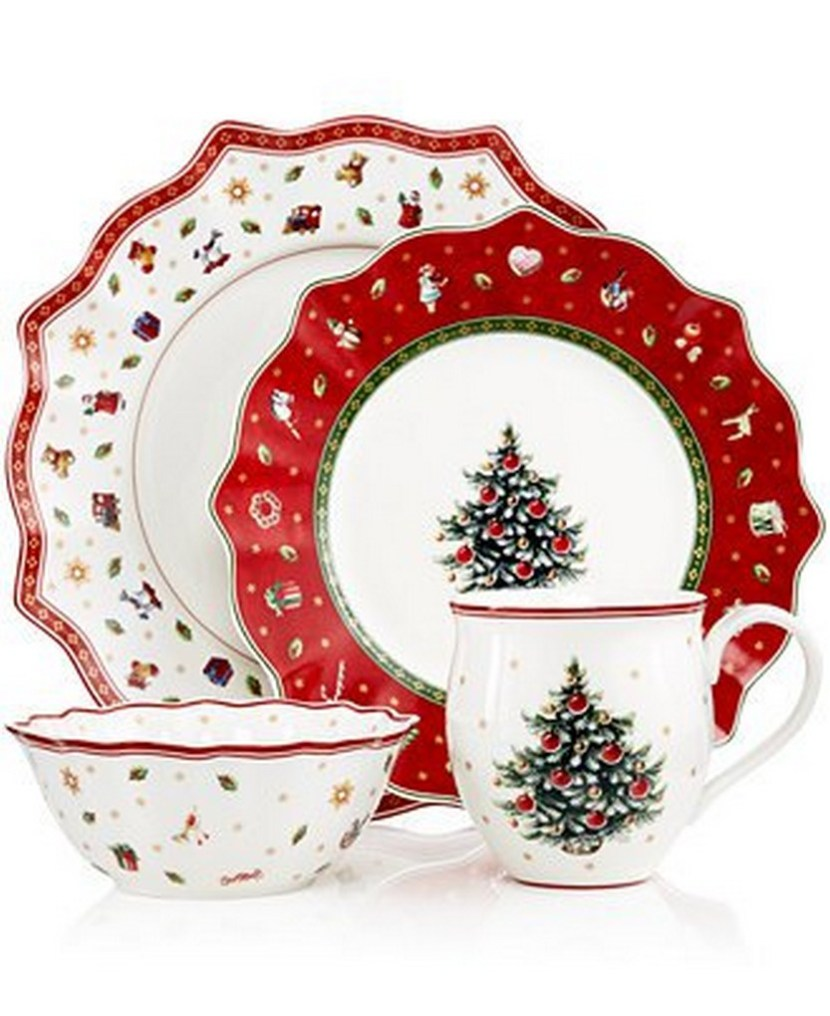 57 beautiful christmas dinnerware sets christmas photos. Black Bedroom Furniture Sets. Home Design Ideas