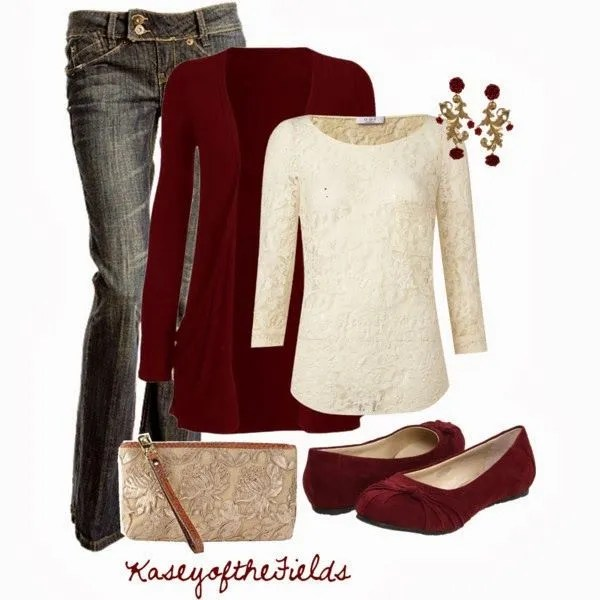 Casual-elegant Christmas outfit