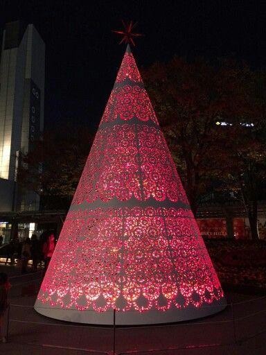 Christmas Tree Illumination Tokyo, 2014