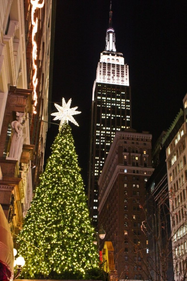 Christmas Tree, Macy's on 34th Street, NYC