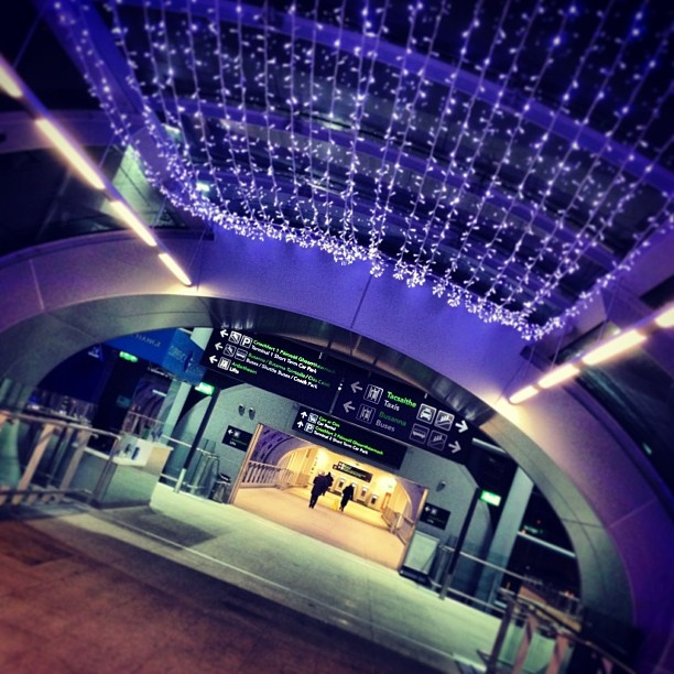 Dublin Airport Markstanley posted his #DUBXmas picture via Instagram