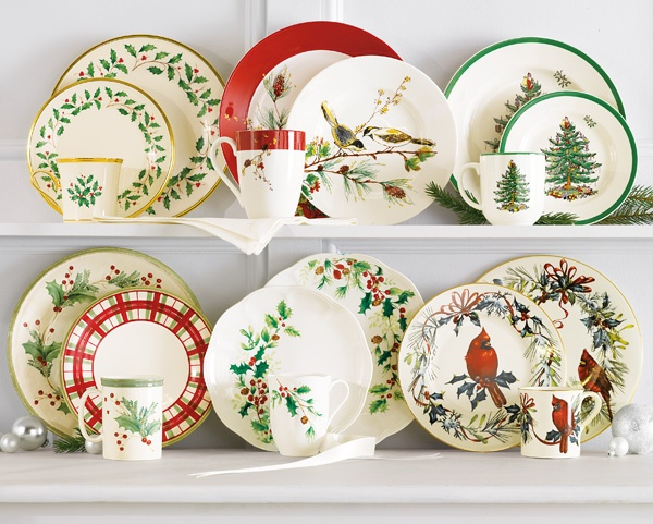 Lenox & Spode Christmas Dinnerware Collections (Belk)