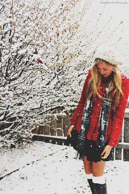 Love this cute winter outfit, snow please hurry!