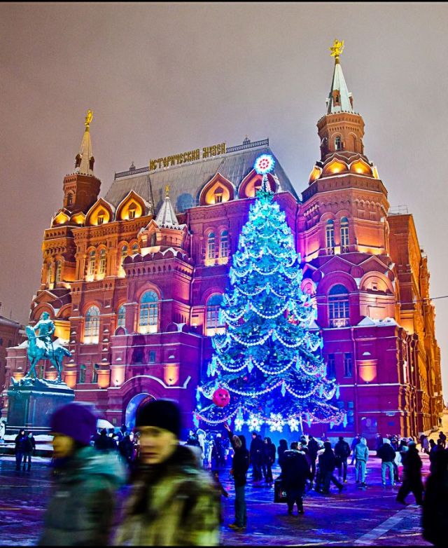 Moscow at Christmas