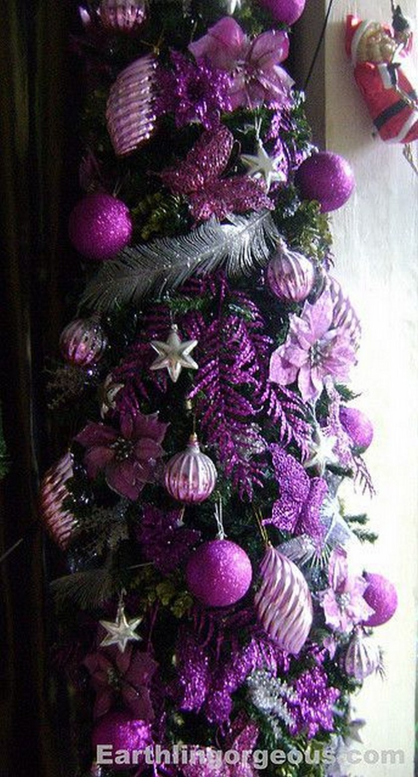 Purple Christmas Decorations For Tree