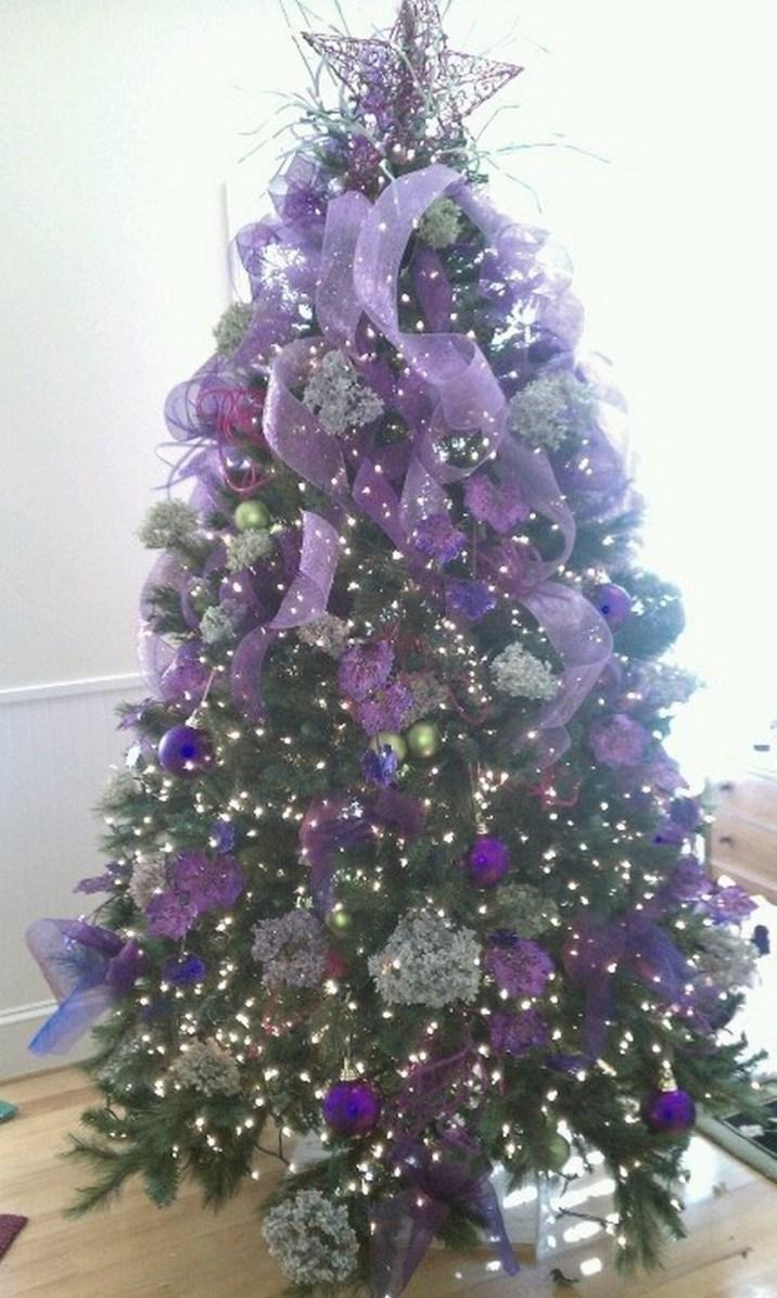 Purple Christmas Trees Christmas Photos